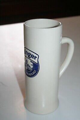 Ayinger Beer Germany 0.5 liter Tall Stoneware Stein Mug EUC
