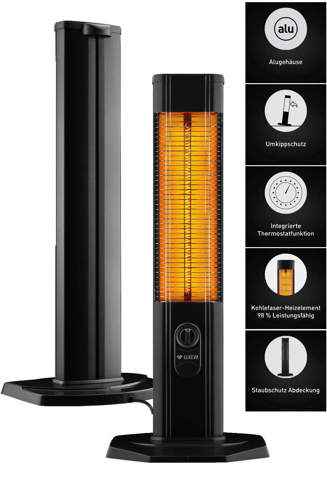 VASNER StandLine 25R Infrarot-Standheizstrahler max 2500 Watt weiß