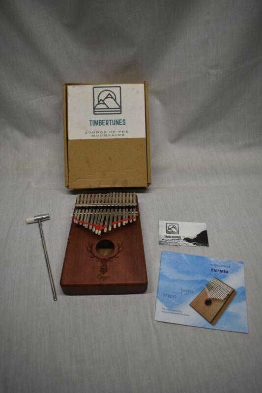 Timber Tunes cega kalimba thumb piano mbira Instrument Africa finger FREE SHIP!!