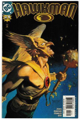 2002 HAWKMAN #1, 2, & 3 LOT OF 3 DC COMIC BOOKS