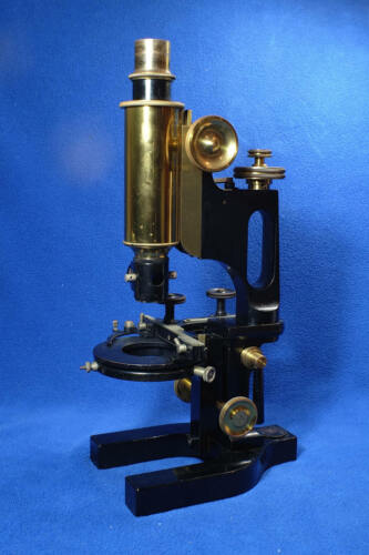 Bausch & Lomb/Zeiss Model CCM Metallurgical Microscope Antique Scarce