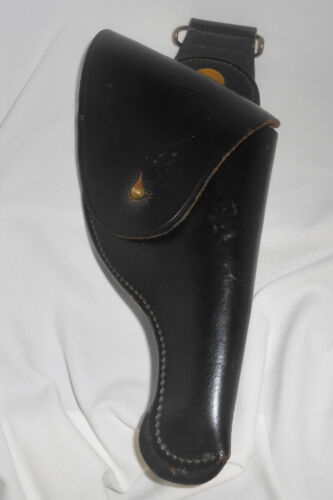 Jay-Pee Holster Black Leather Police Duty Holster Vintage