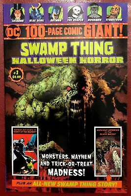 Swamp Thing DC 100-Page Giant Halloween Horror 1 SOLID NM Walmart  BOX SHIPPING ](Halloween Collection Walmart)