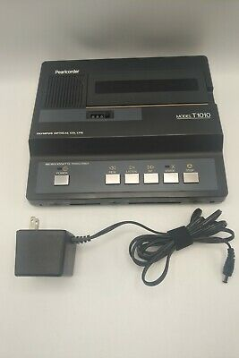 Olympus - Pearlcorder - T1010 - Microcassette Transcriber - Tested - A4