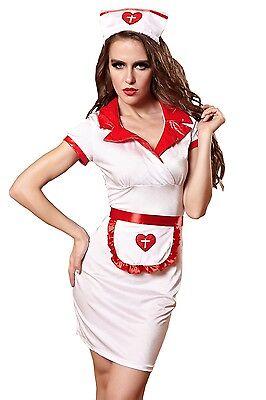 Kostüm Ärztin Krankenschwester Damen Wäsche (Krankenschwester Ärztin Kostüm)