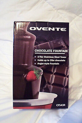 Фондю NEW OVENTE CHOCOLATE FOUNTAIN -