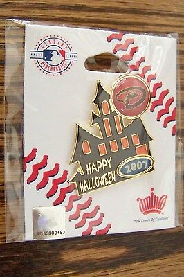 2007 Arizona Diamondbacks Halloween Haunted House pin