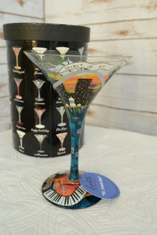 Boston-Tini Santa Barbara Design Studio Kitchen GLS4-5590E Lolita Love My Martini Glass