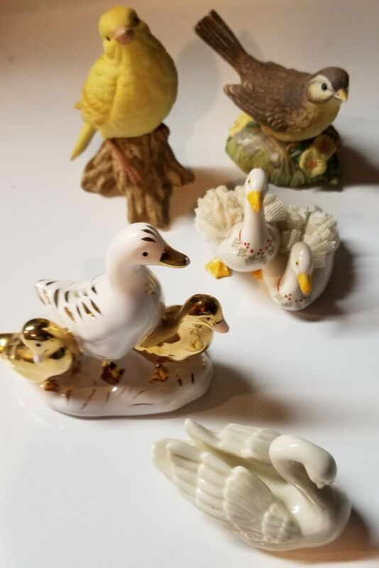 Irish Dresden Geese, Ducks & other knickknacks
