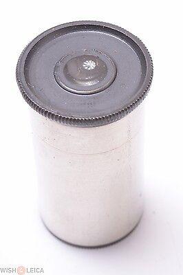 Winkel Zeiss Leitz Nickel Plated 5x Eyepiece Microscope Ocular Lens