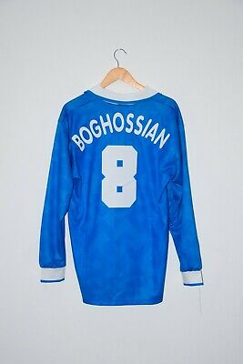 1995/96 BOGHOSSIAN authentic jersey Napoli retro vintage Maradona Parma France