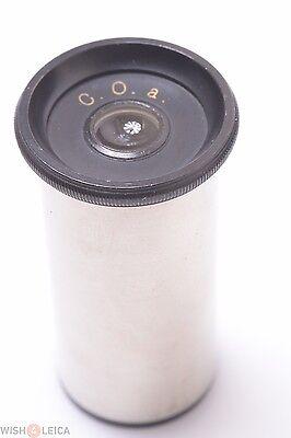 Zeiss Leitz Reichert C.o. A Compensation Eyepiece Microscope Ocular Lens