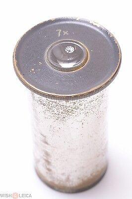 Winkelzeissleitzreichert Nickel 7x Eyepiece Microscope Ocular Lens
