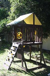 timber cubby house / play fort San Remo Wyong Area Preview