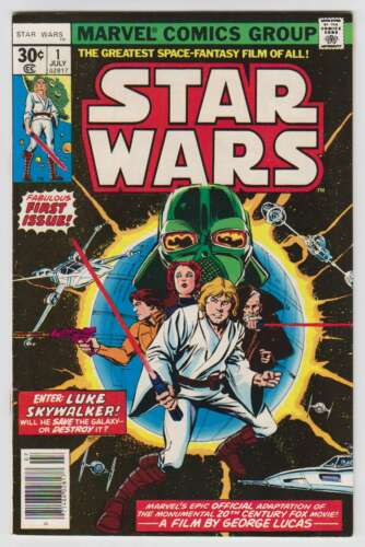 M0247: Star Wars #1, Vol 1, NM Condition