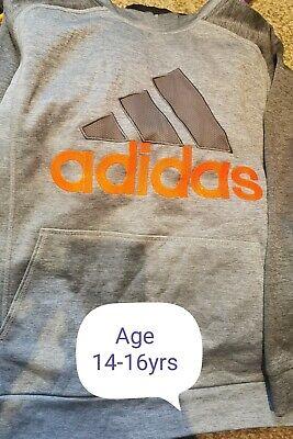 Adidas Hoody Age 14-16 years.