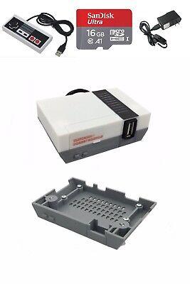 Raspberry Pi Zero + NES Sentence structure Case Bundle Emulation Console w/ Accessories Kit