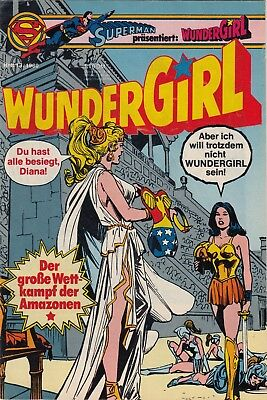 SUPERMAN präsentiert: WUNDERGIRL 1980 # 13  - EHAPA - ZUSTAND 1 SM