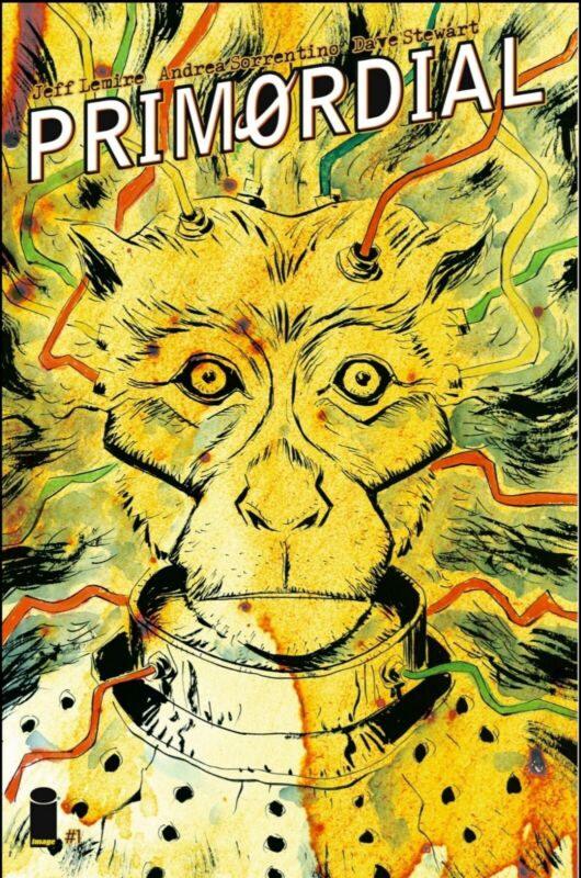 Primordial #1 Jeff Lemire Store Exclusive Variant Cover Royal/Cadence #/500 COA