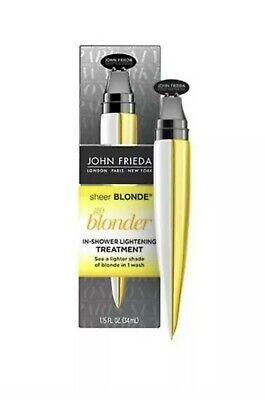 John Frieda Sheer Blonde Go Blonder In Shower Treatment 34ml
