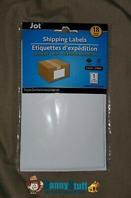 Jot 4x6 White Shipping Labels 180 Ct. Laserinkjet 1 Label Per Sheet Free Sh