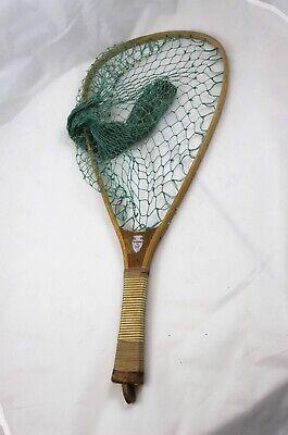 Vintage ED Cumings, Inc. Fishing Net, Flint, MI--  Man Cave, Lodge, (Cuming Men)