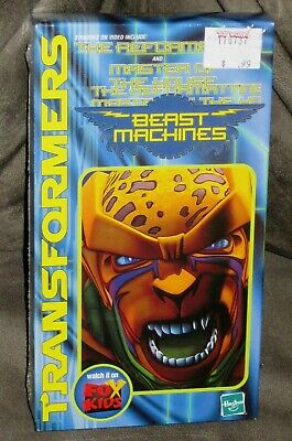 Transformers Beast Machines: The Reformatting & Master of The House VHS - New