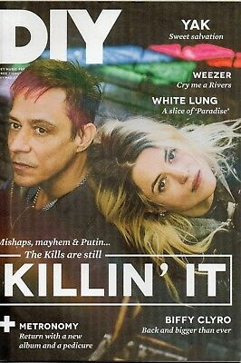 DIY MUSIC MAG MAY 2016 THE KILLS BIFFY CLYRO WEEZER PLUS MORE comprar usado  Enviando para Brazil