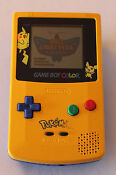 Pokemon Yellow Version Gameboy Color