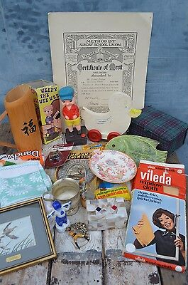 Clearance Bundle Mixed Different Vintage Collectables Curios Items Job Lot #17
