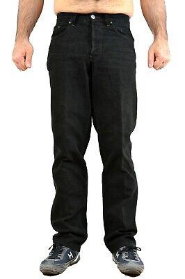 LEVIS 440 VINTAGE 80s JEANS BLACK STRAIGHT LEG Trousers pants W31 L32 White Tab ()