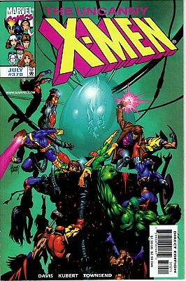 Uncanny X-Men #370 Very Fine/Near Mint 9.0. WOLVERINE, COLOSSUS, ROGUE, GAMBIT