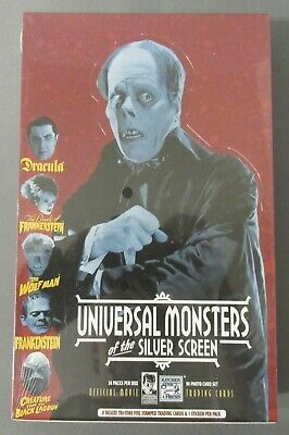 Universal Monsters of the Silver Screen Trading Card Box 36 Pack Factory SEALED