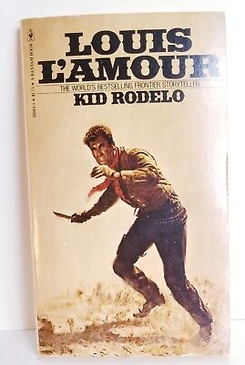 Vintage Loius L'Amour Kid Rodelo Discount Book Sales On Line Books Online Stores