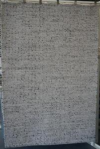New Unitex Scandi Skandi Grey Wool Flatweave Woven Floor Rugs Melbourne CBD Melbourne City Preview