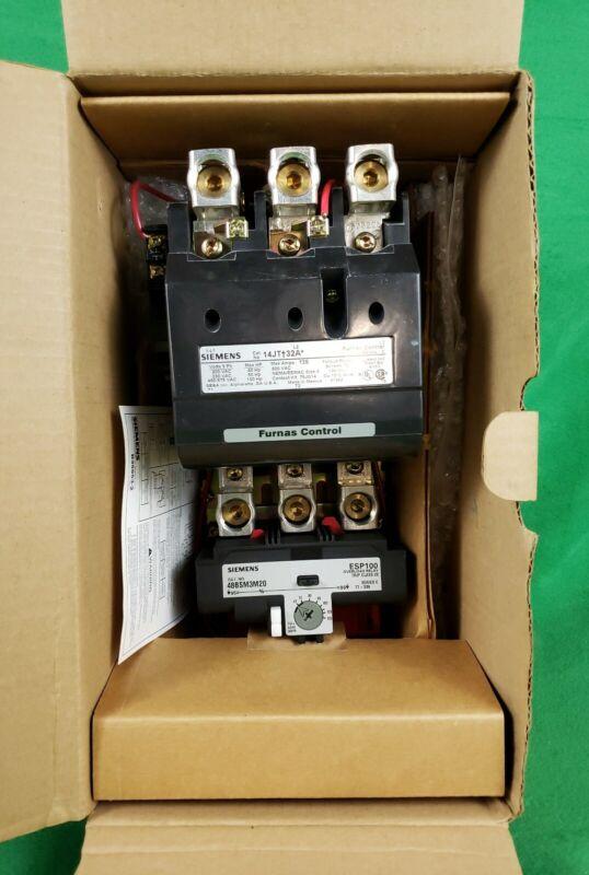 Siemens 14JTM32AA Nema Size 4 Motor Starter