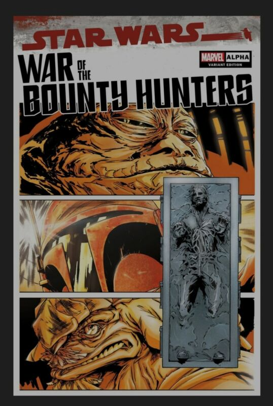 WAR OF THE BOUNTY HUNTERS #1 ALPHA PAOLO VILLANELLI VARIANT 05.05.2021