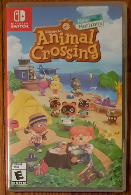 Animal Crossing : New Horizons Video Game Nintendo Switch NEW SEALED FREE SHIP