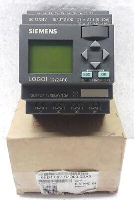Siemens Logo 1224rc Logic Module 6ed1052-1md00-0ba5
