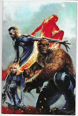 FANTASTIC FOUR #1 DELL'OTTO VIRGIN VARIANT EDITION NM FRANKIE'S COMICS (Otto Cartoon Character)