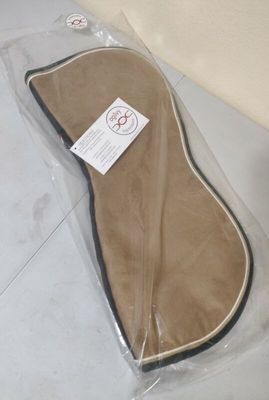 Ogilvy Jumper Memory Foam Half Pad COVER ONLY Beige/Brown, White, Green - NEW