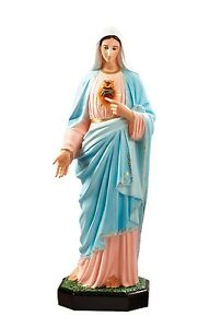 Immaculate-Heart-of-Mary-fiberglass-statue-cm-110