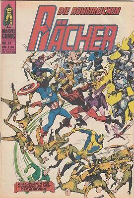 DIE RÄCHER # 43 - MARVEL WILLIAMS 1976 - ZUSTAND 2-3