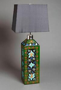 NEW Pair Designer Turquoise Blue Handcrafted Tall TableLamps x 2 Macquarie Park Ryde Area Preview
