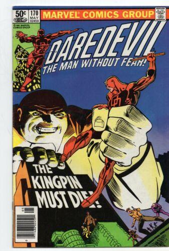 Daredevil 170 Marvel 1981 FN VF Frank Miller Klaus Janson Bullseye Kingpin