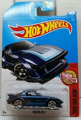 Hot Wheels1995 Mazda RX-7 2017 Then/Now 3/10 New for 2017 (117
