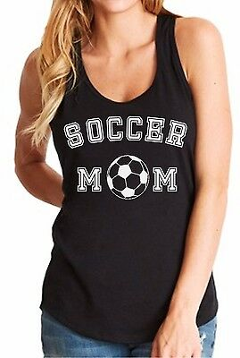 Tank Top Soccer Mom Shirt Women's T-Shirt Team Supporter Goal Mama Football Fan Soccer T-shirt Tank Top