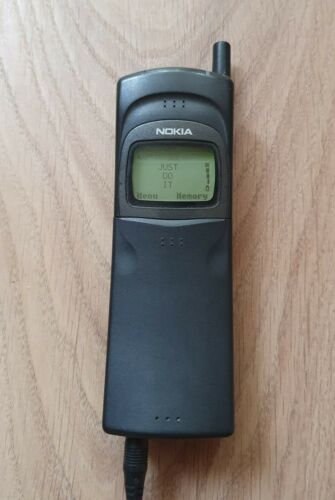 Nokia 8110 - Black (Unlocked) Cellular Phone