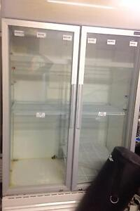 2x Bromic double glass chiller, display refrigerator. Near new. Bundall Gold Coast City Preview