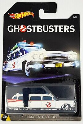 Hot Wheels 1/64 Scale Diecast Ecto-1 - Ghostbusters